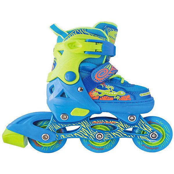 Tech Team Набор: роликовые коньки, защита, шлем Jungle Set, голубые
