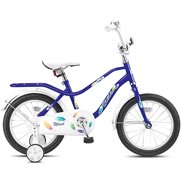 Stels Двухколесный велосипед Wind 14 дюймов Z010 9.5 дюймов,