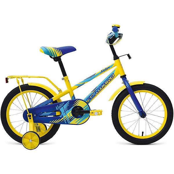 Forward Двухколёсный велосипед Forward Meteor 16, /синий велосипед forward 4312 2014