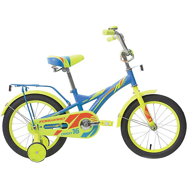 Forward Двухколёсный велосипед Forward Crocky 16, велосипед двухколесный navigator superman 16