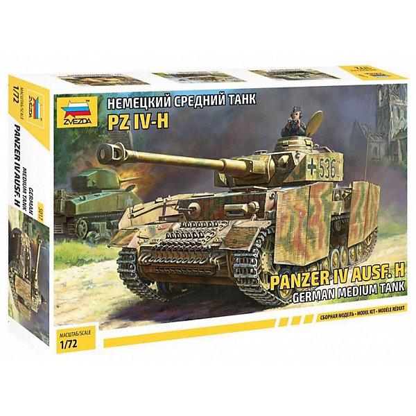 Звезда Сборная модель Немецкий средний танк PZ IV-H