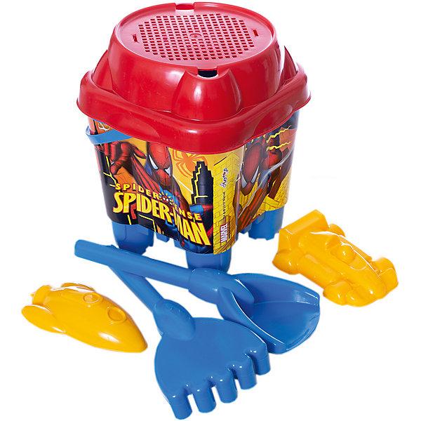 Unice Набор игрушек для песочницы Unice Человек-Паук игрушки для зимы unice песочный набор лопата грабли