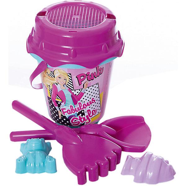 Unice Набор игрушек для песочницы Unice Барби unice песочный набор спайдермен с ведром крепостью