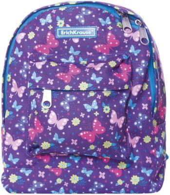 Рюкзак ErichKrause «EasyLine Mini», Butterfly, 6 литров, артикул:8348484 - Школьные рюкзаки и ранцы