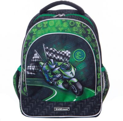 Рюкзак ErichKrause «ErgoLine» Motorbike, 14 литров, артикул:8348486 - Школьные рюкзаки и ранцы