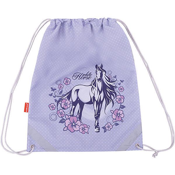 Купить Мешок для обуви Erich Krause, White Horse, Россия, фиолетовый, Женский