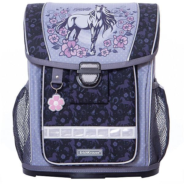 Купить Ранец ErichKrause «ErgoLine» White Horse, 16 литров, Erich Krause, Россия, фиолетовый, Женский