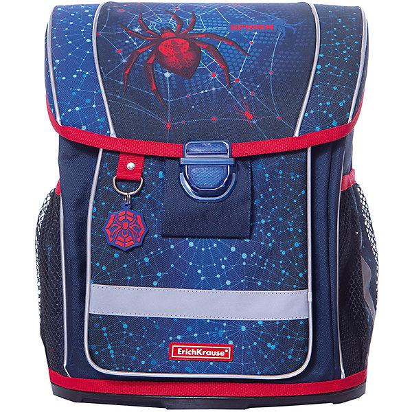 Купить Ранец ErichKrause «ErgoLine» Spider, 16 литров, Erich Krause, Россия, синий, Мужской