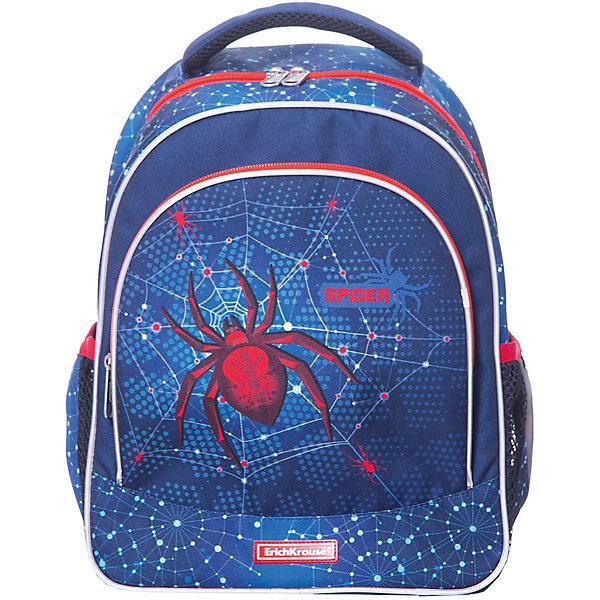 Купить Рюкзак ErichKrause «ErgoLine», Spider, 14 литров, Erich Krause, Россия, синий, Мужской