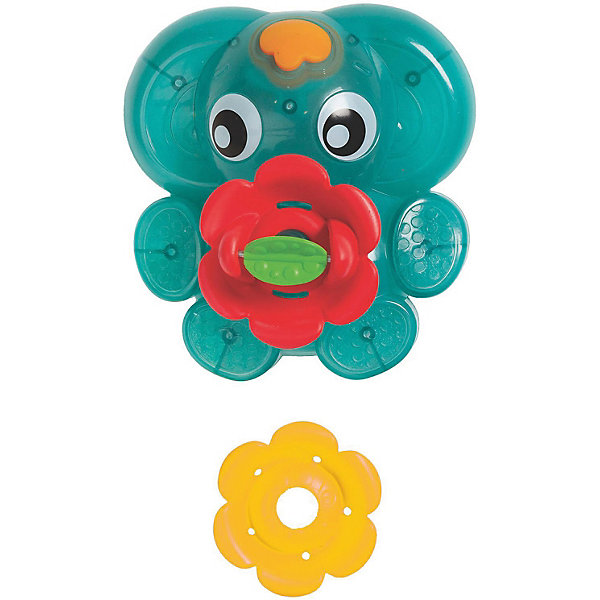 Фонтанчик PlaygroИгрушки для ванной<br>Характеристики товара:<br><br>• возраст: от 1 года;<br>• материал: пластик;<br>• в комплекте: фонтанчик, 2 насадки;<br>• тип батареек: 3 батарейки АА;<br>• наличие батареек: в комплект не входят;<br>• размер упаковки: 21,2х18,2х9,1 см;<br>• вес упаковки: 246 гр.<br><br>Фонтанчик Playgro - развивающая игрушка для малыша, которая превратит купание в ванной в интересный и познавательный процесс. Фонтанчик в виде слоника легко держится на воде. Если опустить его на воду и нажать на кнопку, то он замигает красным огоньком. 2 насадки в комплекте позволяют регулировать направление фонтана. Игрушка полностью герметична, поэтому вода не попадает в отсек с батарейками. Игрушка выполнена из качественных безопасных материалов.<br><br>Фонтанчик Playgro можно приобрести в нашем интернет-магазине.<br>Ширина мм: 182; Глубина мм: 91; Высота мм: 212; Вес г: 246; Цвет: разноцветный; Возраст от месяцев: 12; Возраст до месяцев: 2147483647; Пол: Унисекс; Возраст: Детский; SKU: 8353042;