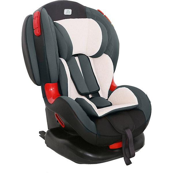 Автокресло Smart Travel Premier Isofix, 9-25 кг, smokyАвтокресла с креплением Isofix<br>Характеристики автокресла:<br><br>• возраст: от 1 года до 7 лет;<br>• вес ребенка:  9-25 кг;<br>• группа: 1-2;<br>• способ крепления: Isofix;<br>• способ установки: по ходу движения;<br>• 5-ти точечные ремни безопасности;<br>• регулировка наклона спинки в 6 позициях;<br>• материал: полиэстер, пластик;<br>• размер упаковки: 98х46х49 см;<br>• вес упаковки: 7,7 кг.<br><br>Автокресло Smart Travel Premier Isofix smoky предназначено для перевозки в машине ребенка от 1 года до 7 лет. Устанавливается кресло при помощи надежных креплений Isofix, которые не дают креслу сдвигаться вперед при резких толчках. Широкие плотные боковины и ударопрочные демпферы защитят ребенка от травм во время столкновения. <br><br>Для маленького пассажира в кресле есть мягкий вкладыш. В возрасте до 4 лет спинку кресла можно регулировать по наклону в 6 положениях, что позволит крохе отдохнуть во время поездки. В автокресле ребенок фиксируется внутренним ремнем, который регулируется по мере роста. <br><br>Автокресло Smart Travel Premier Isofix smoky можно приобрести в нашем интернет-магазине.<br>Ширина мм: 980; Глубина мм: 460; Высота мм: 490; Вес г: 7700; Цвет: серый; Возраст от месяцев: 12; Возраст до месяцев: 84; Пол: Унисекс; Возраст: Детский; SKU: 8353083;