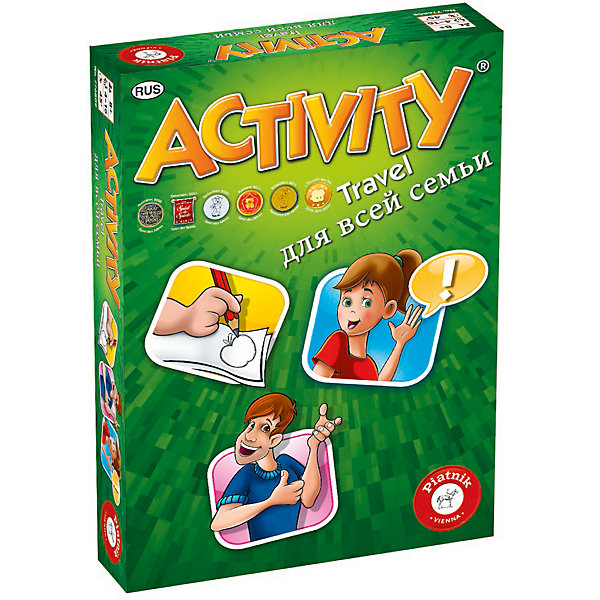 Piatnik Настольная игра Activity Компактная для всей семьи, Piatnik piatnik настольная игра activity вперед детская версия piatnik