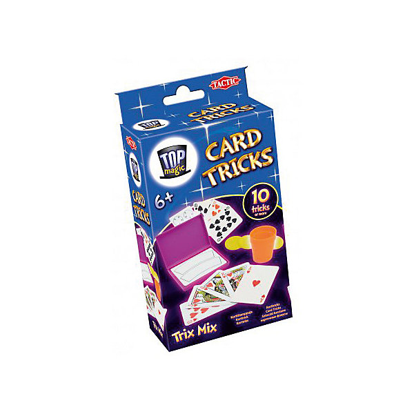 Tactic Games Карточные фокусы Tactic Games card games lisciani r63604 learning education kids games for baby bizyboard toy