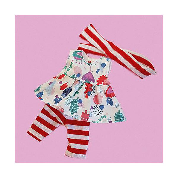 Одежда для куклы Карлотты Vestida de Azul Лето Морской стиль, с бриджамиОдежда для кукол<br>Характеристики:<br><br>• возраст: от 3 лет;<br>• материал: текстиль;<br>• комплектация: туника, капри, кепка;<br>• высота куклы: 28 см;<br>• вес: 250 гр;<br>• размер: 30х17х5 см;<br>• страна бренда: Испания;<br>• бренд: Vestida de Azul.<br> <br>Одежда для куклы Карлотты Vestida de Azul «Лето Морской стиль», с бриджами для куклы 28 см. В наборе: туника с цветочным принтом, капри в полоску и кепка. Летний образ куклы в морском стиле поможет сформировать вкус ребенка с самых ранних лет. <br><br>Благодаря увлекательным играм с переодеваниями у ребенка разовьются такие важные качества, как забота и ответственность за других. Комплект изготовлен из высококачественных и гипоаллергенных материалов.<br><br>Одежду для куклы Карлотты Vestida de Azul «Лето Морской стиль», с бриджами  можно  купить в нашем интернет-магазине.<br>Ширина мм: 300; Глубина мм: 170; Высота мм: 50; Вес г: 250; Цвет: разноцветный; Возраст от месяцев: 36; Возраст до месяцев: 2147483647; Пол: Женский; Возраст: Детский; SKU: 8361723;