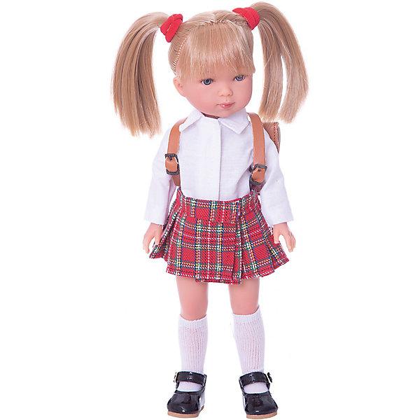 Vestida de Azul Классическая кукла Vestida de Azul Карлотта, Школьница vestida de azul кукла карлотта блондинка с челкой нюд