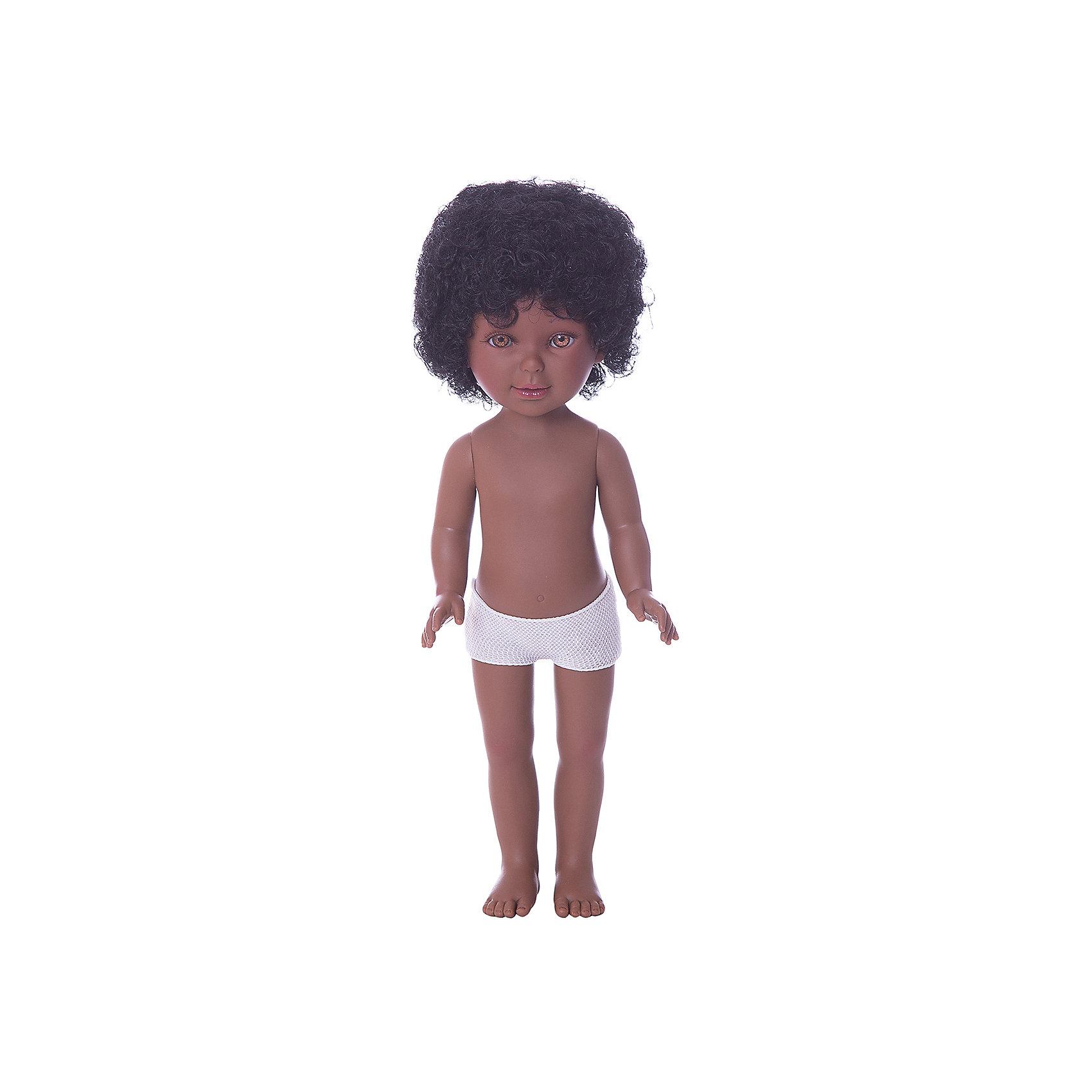 Классическая кукла Vestida de Azul Паулина, Африканка, нюд