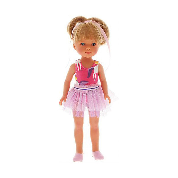 Vestida de Azul Классическая кукла Vestida de Azul Карлотта, Балерина vestida de azul кукла карлотта блондинка с челкой нюд