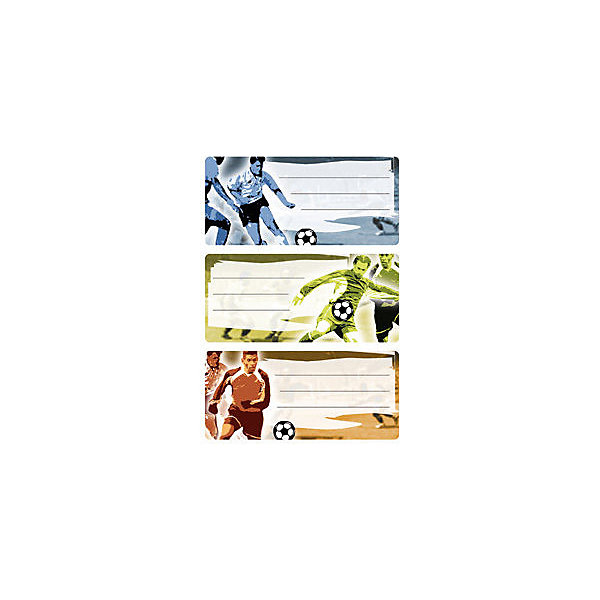 Набор наклеек для тетрадей Herma Vario ФутболТетради<br>Характеристики:<br><br>• возраст: от 3 лет<br>• в наборе: 3 листа 9 наклеек<br>• размер: 7,6х3,5 см.<br>• материал: бумага<br><br>Наклейки для подписи тетрадей Herma «Vario» Футбол создадут радостное настроение и придадут тетрадям неповторимый дизайн.<br><br>Яркие картинки, украшающие обложки тетрадей, будут предметом гордости маленького ученика. Наклейки станут палочкой-выручалочкой, если тетрадь подписана неверно.<br><br>В тетрадях, украшенных этими наклейками, приятно будет делать уроки, а любой скучный дневник превратиться в яркую копилку хороших оценок.<br><br>Набор наклеек для тетрадей Herma Vario Футбол можно купить в нашем интернет-магазине.<br>Ширина мм: 160; Глубина мм: 90; Высота мм: 2; Вес г: 10; Цвет: разноцветный; Возраст от месяцев: 36; Возраст до месяцев: 2147483647; Пол: Унисекс; Возраст: Детский; SKU: 8362492;