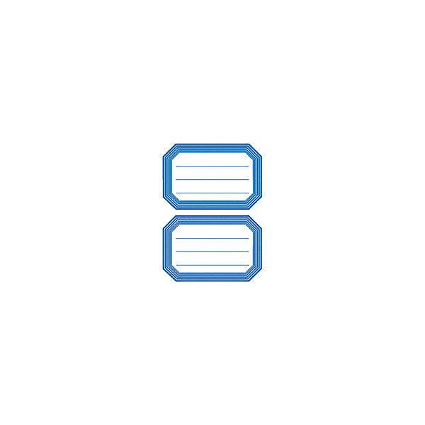 Набор наклеек для тетрадей Herma Vario Синяя рамкаТетради<br>Характеристики:<br><br>• возраст: от 3 лет<br>• в наборе: 6 листов 12 наклеек<br>• размер: 8,2х5,5 см.<br>• материал: бумага<br><br>Наклейки для подписи тетрадей Herma «Vario» Синяя рамка придадут тетрадям неповторимый дизайн.<br><br>В тетрадях, украшенных этими наклейками, приятно будет делать уроки, а любой скучный дневник превратиться в яркую копилку хороших оценок. Наклейки станут палочкой-выручалочкой, если тетрадь или дневник подписаны неверно.<br><br>Набор наклеек для тетрадей Herma Vario Синяя рамка можно купить в нашем интернет-магазине.