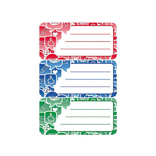 Набор наклеек для тетрадей Herma Vario Социальные иконкиТетради<br>Характеристики:<br><br>• возраст: от 3 лет<br>• в наборе: 3 листа 9 наклеек<br>• размер: 7,6х3,5 см.<br>• материал: бумага<br><br>Наклейки для подписи тетрадей Herma «Vario» Социальные иконки создадут радостное настроение и придадут тетрадям неповторимый дизайн.<br><br>Яркие картинки, украшающие обложки тетрадей, будут предметом гордости маленького ученика. Наклейки станут палочкой-выручалочкой, если тетрадь подписана неверно.<br><br>В тетрадях, украшенных этими наклейками, приятно будет делать уроки, а любой скучный дневник превратиться в яркую копилку хороших оценок.<br><br>Набор наклеек для тетрадей Herma Vario Социальные иконки можно купить в нашем интернет-магазине.