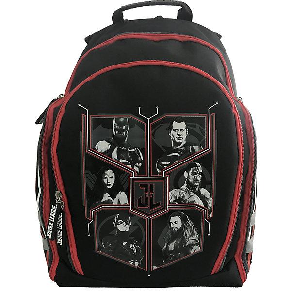 Купить Рюкзак Action! DC Cоmics , черно-красный, Китай, черный/розовый, Мужской