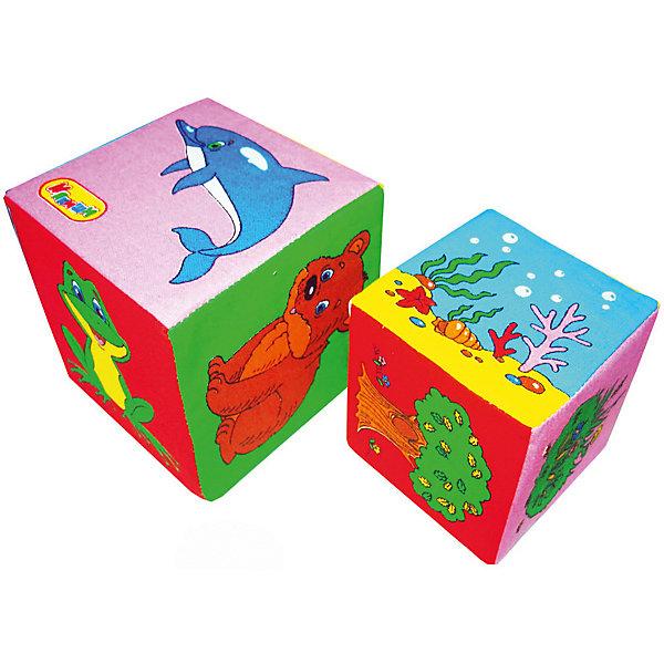 Мягкие кубики Мякиши Кто где живётРазвивающие игрушки<br>Характеристики:<br><br>• возраст: с рождения;<br>• материал: хлопок, поролон;<br>• в наборе: 2 кубика – 10х10х10 см и 8х8х8 см;<br>• вес упаковки: 58 гр.;<br>• размер упаковки: 16,5х30х10 см;<br>• страна бренда: Россия.<br><br>Кубики Мякиши «Кто где живет» имеют маленький вес, поэтому малышу комфортно с ними играть. На каждую сторону мягкого кубика нанесен красочный рисунок с изображением животного и его места обитания. Кубики абсолютно безопасны для ребенка, при необходимости игрушку можно постирать руками.<br><br>Кубики Мякиши «Кто где живет» можно купить в нашем интернет-магазине.<br>Ширина мм: 165; Глубина мм: 300; Высота мм: 100; Вес г: 58; Цвет: разноцветный; Возраст от месяцев: -2147483648; Возраст до месяцев: 2147483647; Пол: Унисекс; Возраст: Детский; SKU: 8370313;