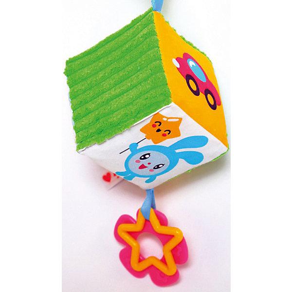 Купить Мягкий кубик-подвеска Мякиши Малышарики , Россия, разноцветный, Унисекс