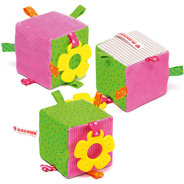 Мякиши Мягкий кубик Мякиши ЭкоМякиши мякиши кубик подвеска малышарики