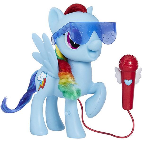 Hasbro Интерактивная фигурка My little Pony Поющая пони Рэйнбоу Дэш