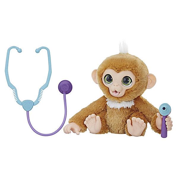 Hasbro Интерактивная игрушка FurReal Friends Вылечи обезьянку