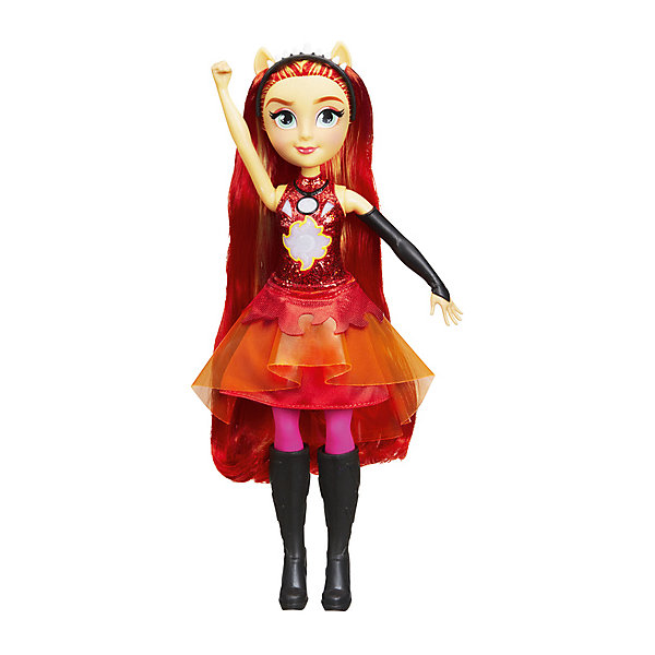 "Hasbro Интерактивная кукла Equestria Girls ""Дружба энергии"" Сансет Шиммер"