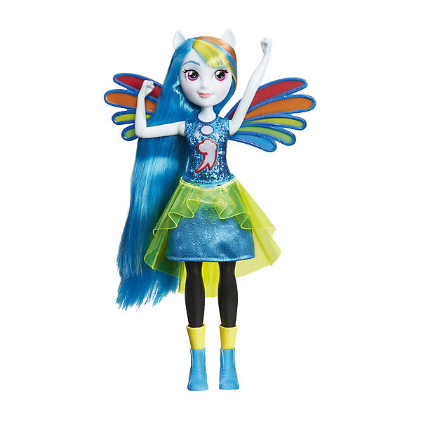 "Hasbro Интерактивная кукла Equestria Girls ""Дружба энергии"" Рэйнбоу Дэш"
