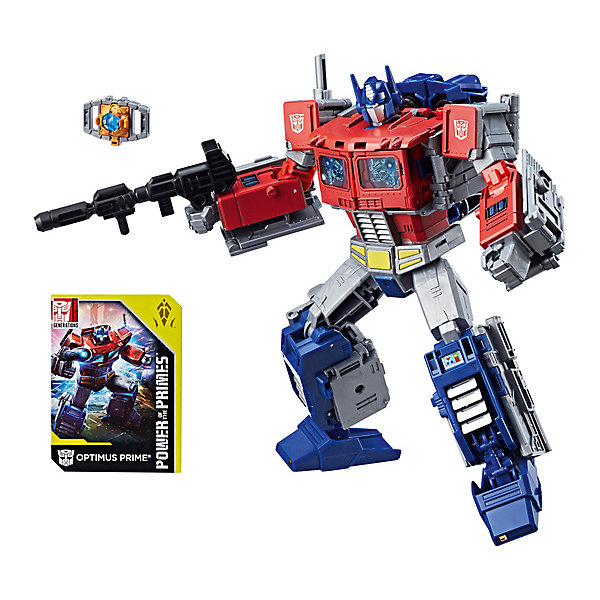 Hasbro Трансформеры Hasbro Transformers Дженерейшнз лидер. Сила Праймов Оптимус Прайм hasbro трансформеры transformers крэш комбайнер гримлок и оптимус прайм