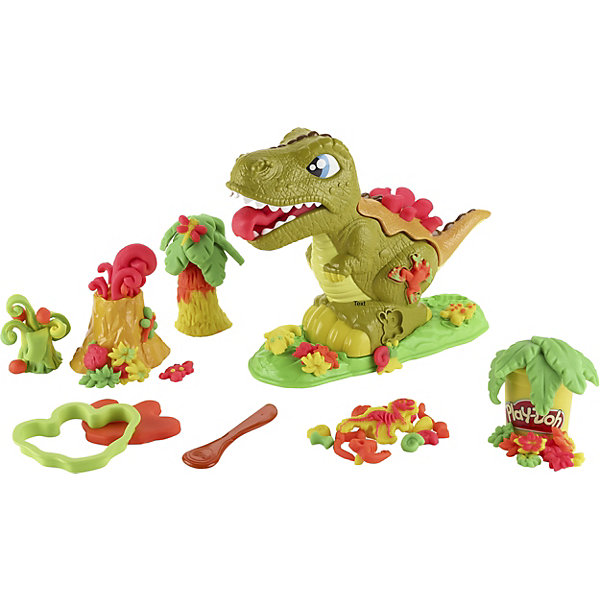 Hasbro Игровой набор Play-DohМогучий динозавр hasbro набор пластилина hasbro play doh цвета и формы