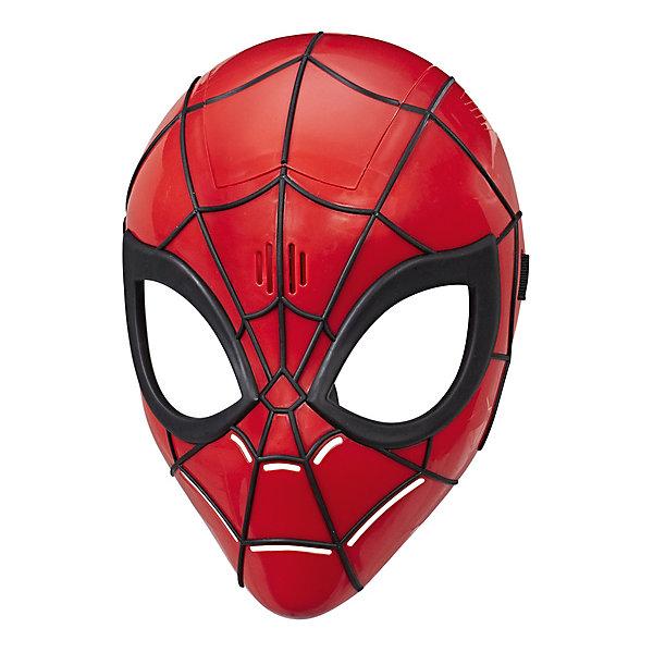 Hasbro Интерактивная маска Spider-Man Спецэффекты героя Человек-паук маска супергероя человек паук