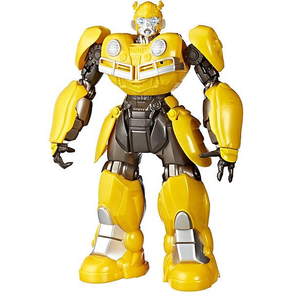 Hasbro Трансформеры Transformers Роботы под прикрытием Диджей Бамблби роботы education line roboblock робот герой xl 89 элементов