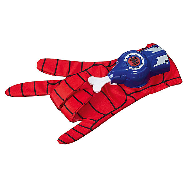 Hasbro Игровой набор Spider-Man Перчатка Человека-Паука, со звуком набор канцелярский spider man classic 5 предметов smcb us1 360