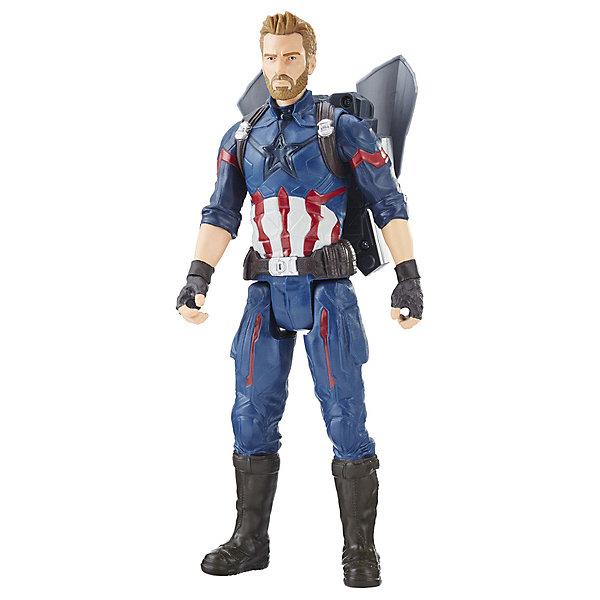 Hasbro Фигурка Avengers Мстители Power FX Капитан Америка игровой набор avengers капитан америка противостояние с 2 фигурками