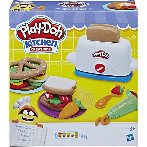 Hasbro Игровой набор Play-DohТостер