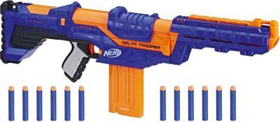 Бластер Nerf  Elite  Дельта Трупер, артикул:8376467 - Игрушечное оружие