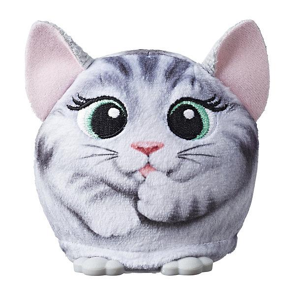 Купить Интерактивная мягкая игрушка FurReal Friends Cuties Плюшевый Друг Котёнок, Hasbro, Китай, разноцветный, Женский