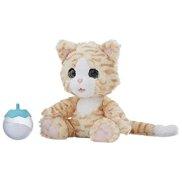 Hasbro Интерактивная игрушка FurReal Friends Покорми Котёнка furreal friends интерактивная игрушка пушистый друг щенок голди