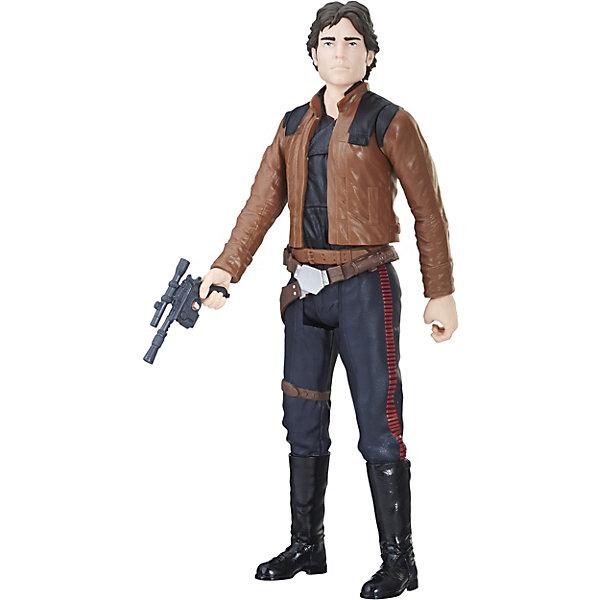 Hasbro Фигурка Star Wars Титаны Хан Соло, 30 см
