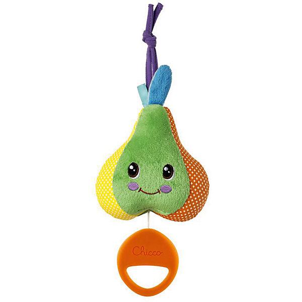 CHICCO Игрушка-подвеска Chicco Груша музыкальная игрушка подвеска chicco подвеска луна спокойной ночи