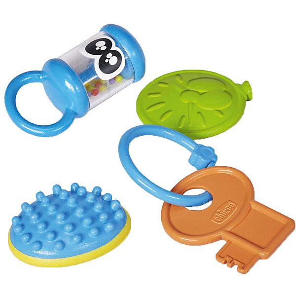 CHICCO Набор игрушек Chicco Baby senses игровой подарочный набор chicco baby senses 4 предмета