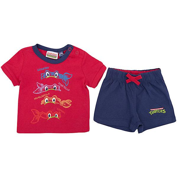 Комплект: футболка,шорты Original Marines для мальчикаКомплекты<br>Характеристики товара:<br><br>• цвет: синий/красный<br>• комплектация: футболка и шорты<br>• состав ткани: 100% хлопок<br>• сезон: лето<br>• особенности модели: спортивный стиль<br>• пояс: резинка на шнурке<br>• кнопки на воротнике<br>• страна бренда: Италия<br>• комфорт и качество<br>• печатный принт<br><br>Яркий комплект из футболки и шорт идеален для активных летних прогулок. Комплект для ребенка сделан из натурального качественного материала. Детский комплект комфортно сидит, не вызывает неудобств. Детская футболка легко надевается благодаря двум кнопкам на воротнике, шорты дополнены эластичной резинкой и шнурком. Итальянский бренд Original Marines - это стильный продуманный дизайн и неизменно высокое качество исполнения. <br><br>Комплект: футболка и шорты Original Marines (Ориджинал Маринс) для мальчика можно купить в нашем интернет-магазине.<br>Ширина мм: 199; Глубина мм: 10; Высота мм: 161; Вес г: 151; Цвет: красный; Возраст от месяцев: 0; Возраст до месяцев: 3; Пол: Мужской; Возраст: Детский; Размер: 56/62,86,80,68/74,62/68; SKU: 8382254;
