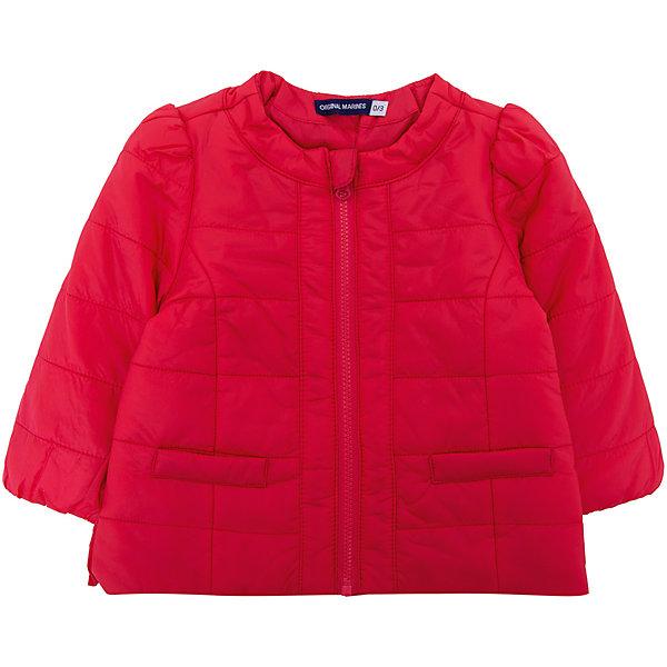 Купить Куртка Original Marines для девочки, Вьетнам, красный, 86, 56/62, 80, 68/74, 62/68, Женский