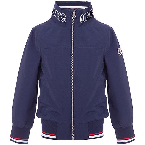 Куртка Original Marines для мальчикаВерхняя одежда<br>Характеристики товара:<br><br>• цвет: темно-синий<br>• пол: мальчик<br>• состав: 55% хлопок 45% полиамид/нейлон // 100% полиэстер<br>• водоотталкивающая пропитка<br>• застежка: молния<br>• карманы<br>• с длинными рукавами<br>• защита подборотка<br>• высокая горловина<br>• страна бренда: Италия<br><br>Стильная и яркая курточка поможет разнообразить гардероб ребенка и обеспечить тепло в прохладную погоду. Содержит водоотталкивающую пропитку.Она отлично сочетается и с джинсами, и с брюками. Красивый цвет позволяет подобрать к вещи низ различных расцветок. Интересная отделка модели делает её нарядной и стильной. <br><br>Итальянский бренд Original Marines - это стильный продуманный дизайн и неизменно высокое качество исполнения. <br><br>Куртку Original Marines (Ориджинал Маринс) для мальчика можно купить в нашем интернет-магазине.<br>Ширина мм: 356; Глубина мм: 10; Высота мм: 245; Вес г: 519; Цвет: темно-синий; Возраст от месяцев: 132; Возраст до месяцев: 144; Пол: Мужской; Возраст: Детский; Размер: 152,140,128; SKU: 8382730;