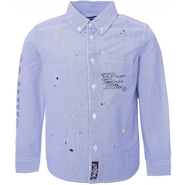 Рубашка Original Marines для мальчикаБлузки и рубашки<br>Характеристики товара:<br><br>• цвет: голубой<br>• пол: мальчик<br>• состав ткани: 100% хлопок<br>• сезон: круглый год<br>• застежка: пуговицы<br>• короткие рукава<br>• страна бренда: Италия<br>• стиль и качество<br><br>Легкая рубашка с коротким рукавом для мальчика Original Marines удобно сидит по фигуре. Стильная детская рубашка сделана из натуральной хлопковой ткани. Отличный способ обеспечить ребенку комфорт и аккуратный внешний вид - надеть детскую рубашку от Original Marines. Детская рубашка с коротким рукавом сшита из приятного на ощупь материала, который позволяет коже дышать.<br><br>Рубашку Original Marines (Ориджинал Маринс)  для мальчика можно купить в нашем интернет-магазине.<br>Ширина мм: 174; Глубина мм: 10; Высота мм: 169; Вес г: 157; Цвет: разноцветный; Возраст от месяцев: 18; Возраст до месяцев: 24; Пол: Мужской; Возраст: Детский; Размер: 92,116,104; SKU: 8382734;