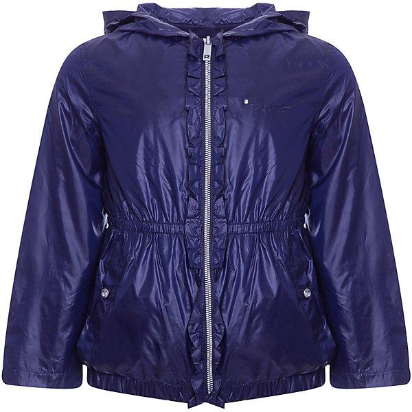 Куртка Original Marines для девочкиВерхняя одежда<br>Характеристики товара:<br><br>• цвет: темно-синий;<br>• пол: девочки<br>• ткань верха: полиэстер 100%;<br>• подкладка: 65% полиэстер 35% хлопок;<br>• сезон: демисезон;<br>• температурный режим: от +10°С;<br>• эластичная утяжка на руковах и по низу;<br>• два боковых кармана;<br>• застежка: на молнии;<br>• тип куртки: ветровка;<br>• капюшон: несъемный;<br>• утяжка по талии;<br>• страна бренда: Италия.<br><br>Куртка Original Marines для девочки -  универсальный вариант для межсезонья. Стильная куртка на подкладке с добавдением натурального хлопка. Идеальна для прогулок в межсезонье или прохладными летними вечерами. Модель создана специально так, чтобы подходить к любому стилю: деловому, спортивному, casual. Модный дизайн и комфорт непримерно понравятся вашему ребенку. <br><br>Куртку Original Marines (Ориджинал Маринс) для девочки можно купить в нашем интернет-магазине.<br>Ширина мм: 356; Глубина мм: 10; Высота мм: 245; Вес г: 519; Цвет: темно-синий; Возраст от месяцев: 84; Возраст до месяцев: 96; Пол: Женский; Возраст: Детский; Размер: 128,152,140; SKU: 8383286;